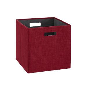 Liam Red Storage Bin, Pack of 2