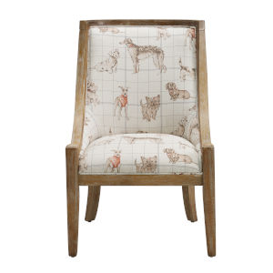 Bracken Stone Brown 38-Inch Chair