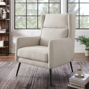 Barclay Beige Accent Chair