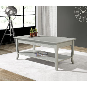 William Gray Grey Coffee Table