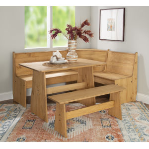 Waldron Natural Nook Dining Set