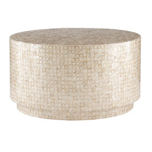 Fred Gold and Ivory Coffee Table
