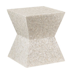 Esther Ivory End Table