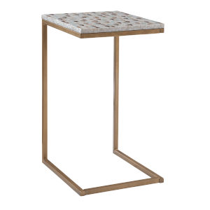 Xander Gold Square C Table