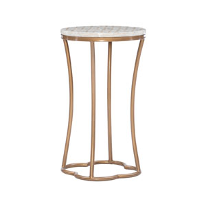 Prisca Gold Accent Table