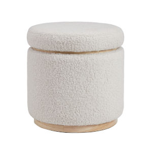 Blanche Natural Storage Ottoman