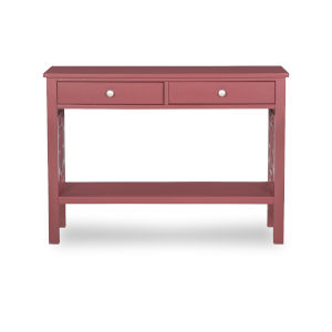 Whitnie Merlot Console Table