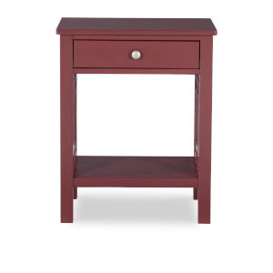 Whitnie Merlot End Table