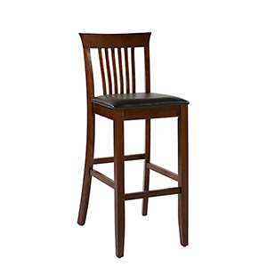 Triena Dark Cherry 30-Inch Craftsman Bar Stool