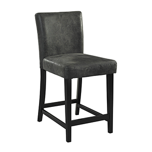 Morocco Charcoal 24-Inch Counter Stool