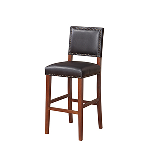 Brook Sapele 30-Inch Bar Stool