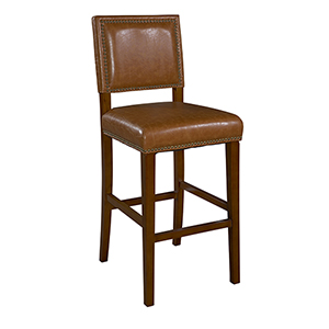 Brook Caramel 30-Inch Bar Stool