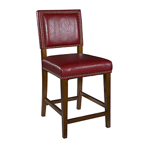 Brook Red 30-Inch Bar Stool