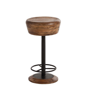 Caymus Natural 14-Inch Counter Stool