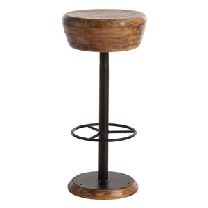 Caymus Natural 14-Inch Bar Stool
