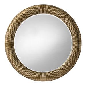 Elton Antique Brass Mirror