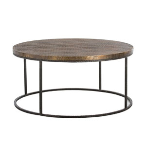 Nixon Natural Iron Coffee Table