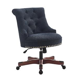 Sinclair Dark Blue Office Chair