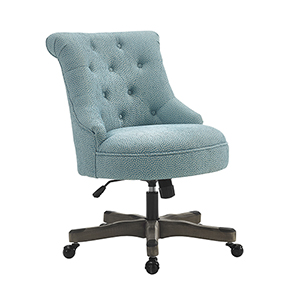 Sinclair Light Blue Office Chair