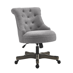 Sinclair Light Gray Office Chair