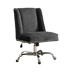 Draper Charcoal Office Chair
