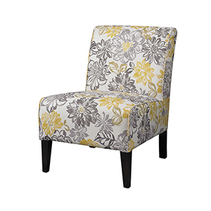Lily Printed Upholstered Chair