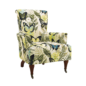 Junnell Printed Arm Chair