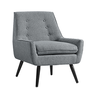 Trelis Gray Flannel Upholstered Chair