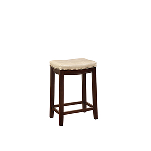 Claridge Beige Counter Stool