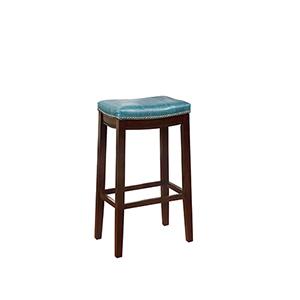 Claridge Blue 30-Inch Bar Stool