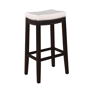 Claridge White Bar Stool