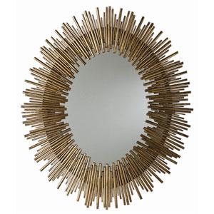 Prescott Gold Leaf Large Oval Mirror