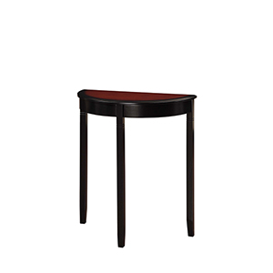 Camden Black Cherry Console Table