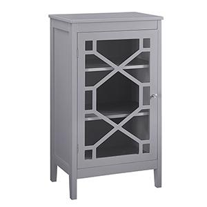 Fetti Gray Small Cabinet