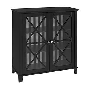 Rapture Black Large Cabinet