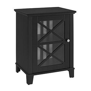 Rapture Black Small Cabinet
