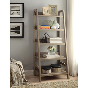 Tracey Gray Ladder Bookcase