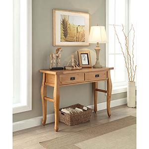 Santa Fe Antique Pine Console Table