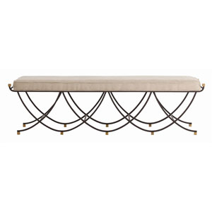 Felice Black 17-Inch Large Bench