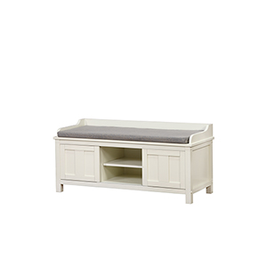 Lakeville Antique White Storage Bench
