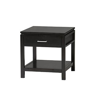 Sutton Black End Table