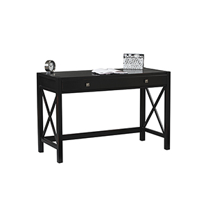 Anna Antique Black Desk