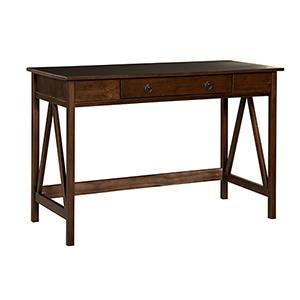 Titian Antique Tobacco Desk