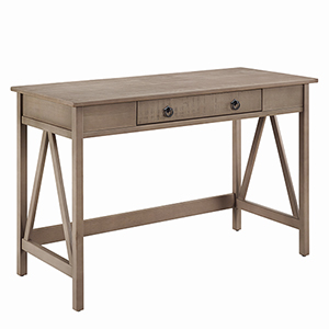 Titian Rustic Gray Desk