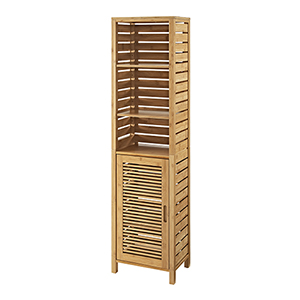 Bracken Natural Bamboo Bathroom Tall Cabinet