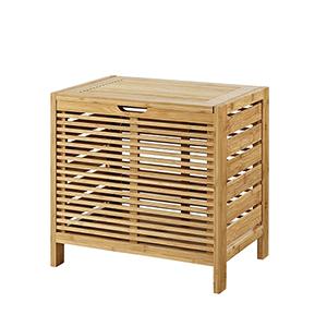 Bracken Natural Bamboo Bathroom Hamper