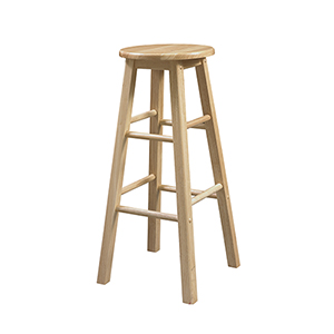 Bentwood Natural 29-Inch Stool