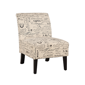 Lily Brown Upholstered Chair
