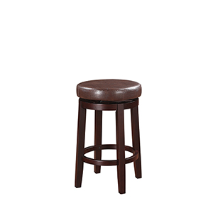 Hazel Brown 24-Inch Counter Stool