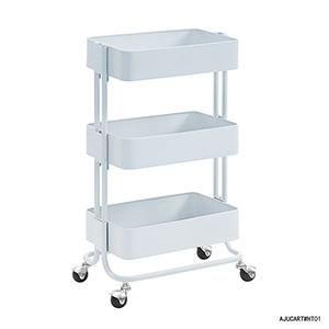 White Three Tier Cart